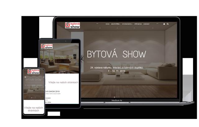 webové stránky responsivní design